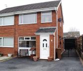 semi detached property in Holly Court, Leeswood...