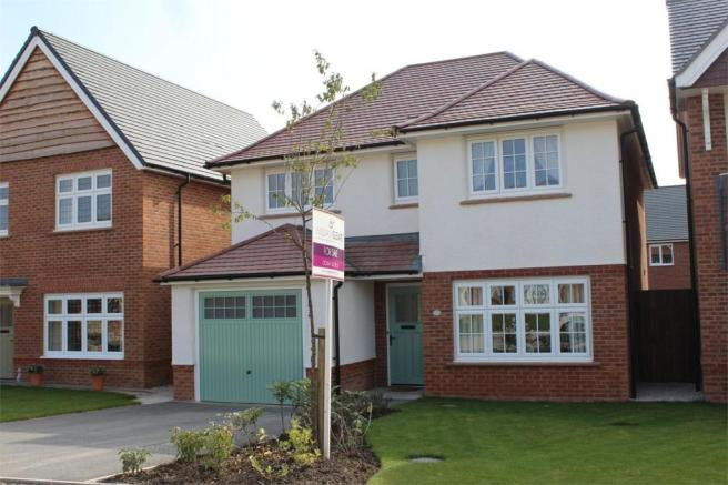 4 bedroom detached house for sale in heritage drive for Buckley house