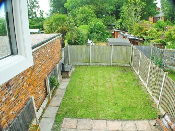 VIEW OF GARDEN BE...