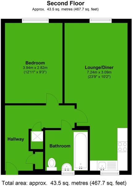 Flat 12 Austen Court