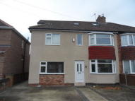 Burnholme Grove semi detached house to rent