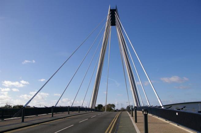 Marine Way Bridge