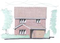 Detached house in Friars Walk, Tring