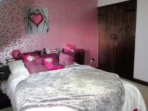 Bedroom and wa...