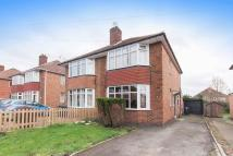 2 bed semi detached home in Bonsall Avenue, Derby