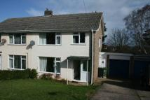 3 bedroom semi detached home in Nether Stowey