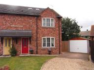 semi detached property in Wheelwright Court, Anwick
