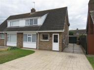 semi detached home in Durham Avenue, Sleaford