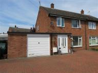 semi detached property for sale in Cromwell Cres, Sleaford
