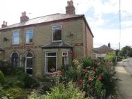 semi detached home in Station Road, Heckington