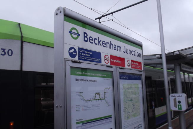 Beckenham Junction Tramlink