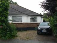 St Margarets Close Semi-Detached Bungalow to rent