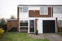 semi detached home for sale in Kennedy Close, Crofton...