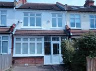 Tremaine Road Terraced property to rent