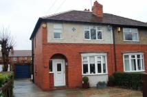 3 bed semi detached property in Eden Avenue, Wakefield...