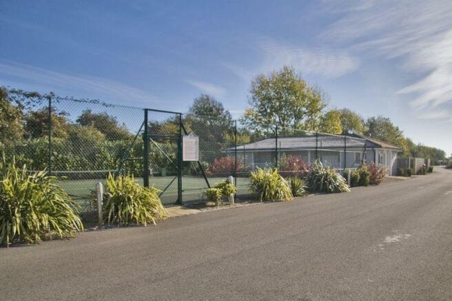 Tennis courts ...