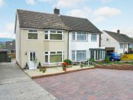 3 bed semi detached house in Huron Crescent, Cyncoed...