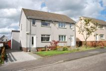 Semi-detached Villa for sale in Bramley Place, Lenzie...