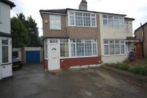3 bed semi detached property in Alan Gardens, ROMFORD...