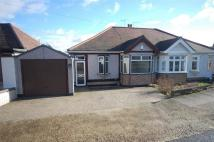 2 bed Semi-Detached Bungalow in Heather Close, RISE PARK...