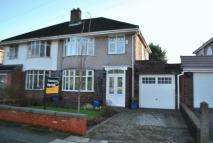 3 bed semi detached home in Yew Tree Lane...