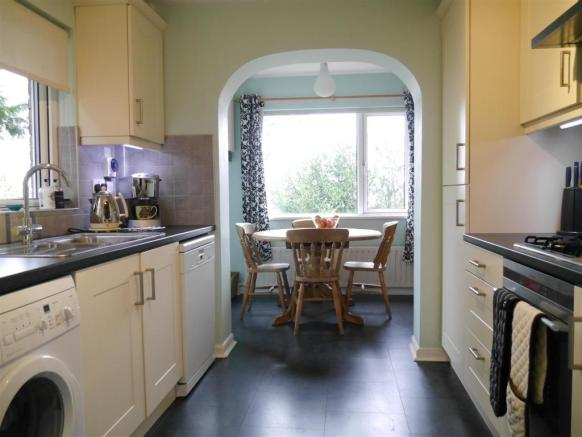 EXTENDED KITCHEN: