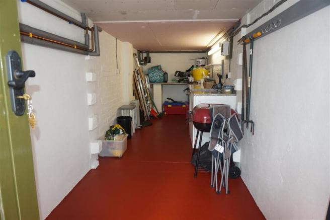 UNDER HOUSE STORAGE/WORKSHOP: