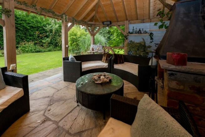 Garden room outlook
