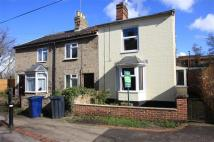 semi detached house in Chalk Road North...