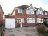 Overton Drive semi detached house for sale