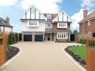 new house in Hanyards Lane, Cuffley...