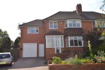 semi detached house in Claines Road, Northfield...