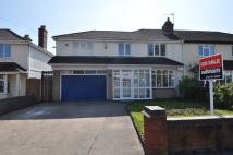 4 bedroom semi detached home in Coombes Lane, West Heath...