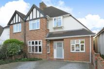 semi detached house in Orme Road...