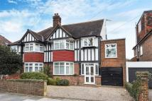 semi detached house for sale in West Barnes Lane...
