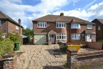 semi detached home in Fairfield Avenue, Horley...