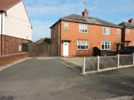 Danesby Crescent semi detached house for sale