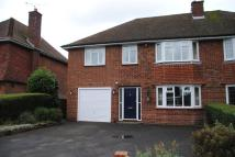 semi detached home to rent in Ashley Drive, Penn