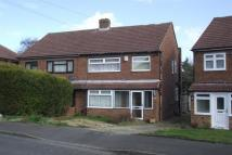 semi detached house in Sermon Drive, Swanley...