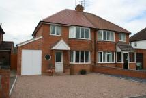 3 bedroom semi detached home in Chestnut Road, Redditch...