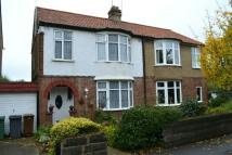 semi detached home for sale in Sheredan Road...