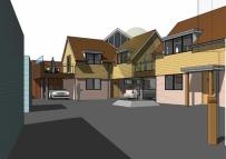 2 bedroom Link Detached House for sale in Rear Of 85 Tilehouse...