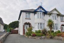 3 bedroom semi detached house in Penrhos Road, Bangor...