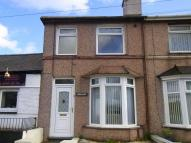 Terraced home for sale in Penrhosgarnedd, Bangor
