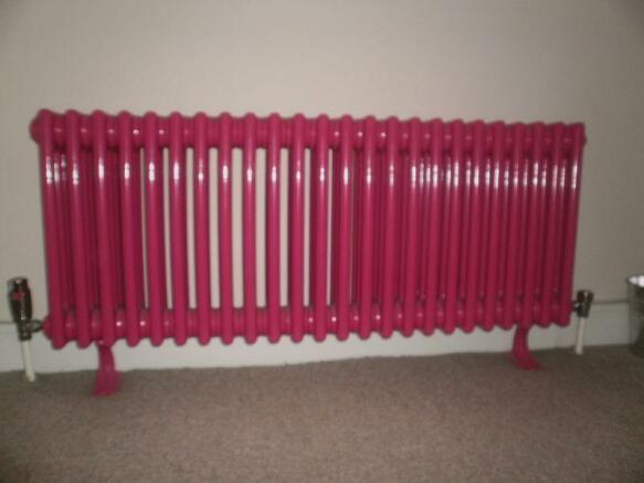 Feature radiator...