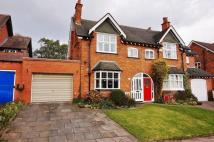 4 bedroom semi detached home in Willow Road, Bournville