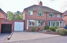 3 bedroom semi detached property for sale in Shenley Fields Road...