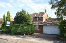 Detached house for sale in Foxbury Close, Luton...