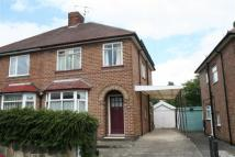 semi detached home for sale in Wilson Road, Chaddesden...