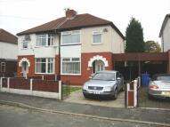 semi detached home in Ingle Road, Cheadle...